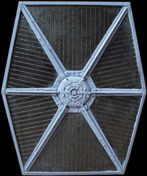 Star Wars Model Kits and Images: AMT/ERTL Tie Fighters plastic model ...