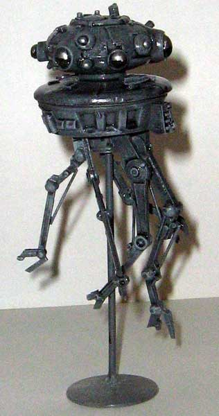 Star Wars Model Kits and Images: RMC Imperial Probe Droid
