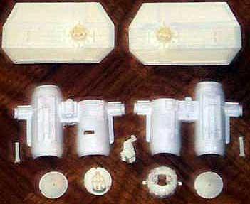 Star Wars Model Kits and Images: Tie Bomber resin model kit