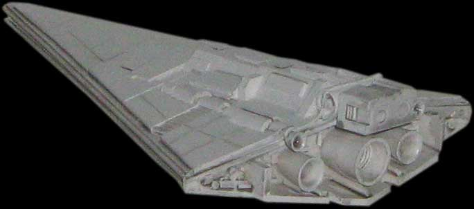 Scale Solutions Admiral Giel's Super Star Destroyer resin model kit