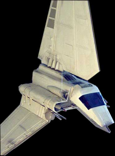 MPC Shuttle Tydirium plastic model kit