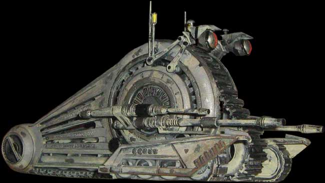 Star Wars Model Kits and Images: AMT/ERTL Corporate Alliance Droid