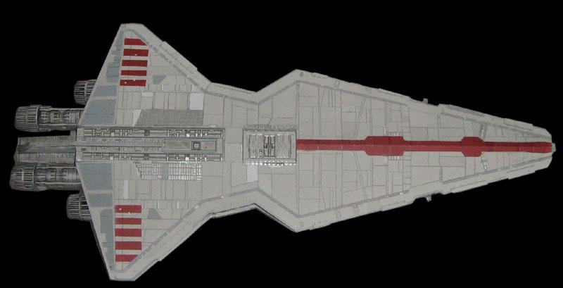 Acrylic Enamel Paint >> Star Wars Model Kits and Images: Revell Republic Star Destroyer Venator plastic model kit
